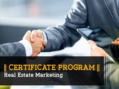 Certificate Program – Real Estate Marketing || 3 Months || Self Learning Course