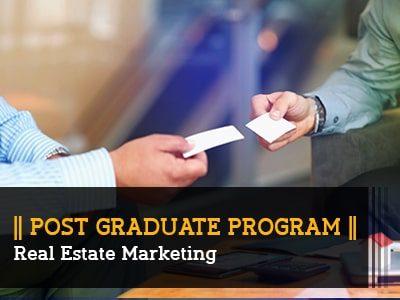 PG Program – Real Estate Marketing || 6 Months || Online Live Program